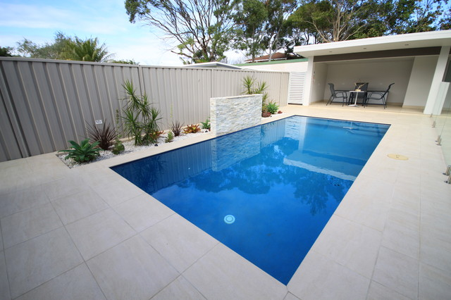 Pool inspirations contemporary-floor-tiles