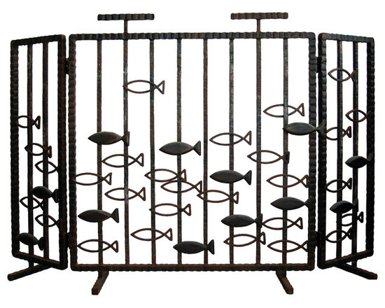 Philip Nimmo Fire Screens and Accessories - Mare Fire Screen