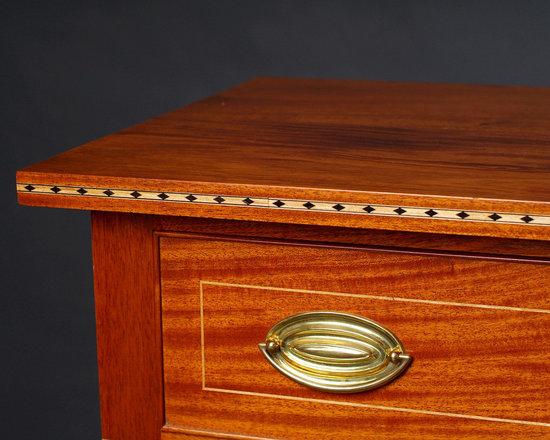 Custom Hepplewhite Sofa Table -
