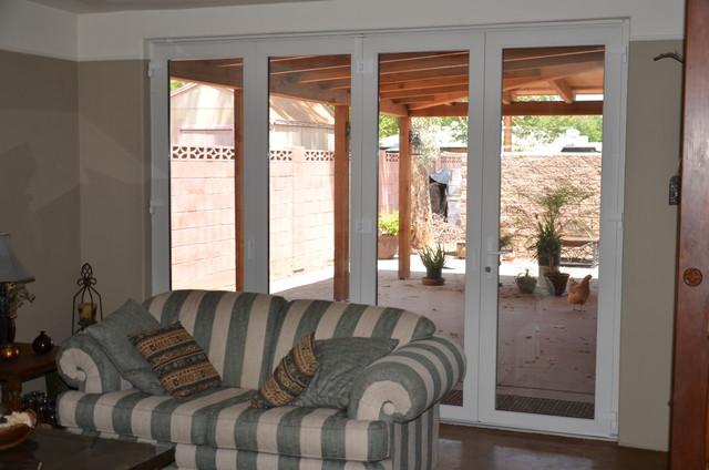 Folding Doors traditional-front-doors