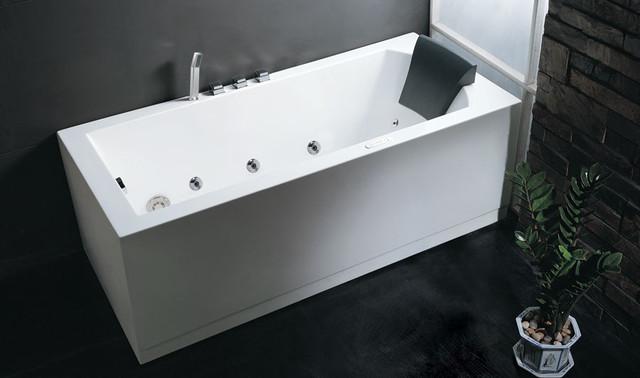 eago 5 skirted whirlpool bath tub am154 5 modern bathtubs new york by quality bath. Black Bedroom Furniture Sets. Home Design Ideas
