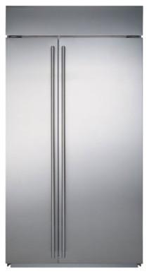 Sub-Zero Side-by-Side Refrigerator/Freezer contemporary