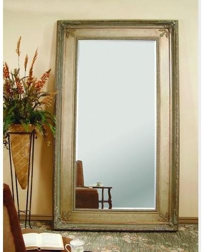 Bassett Mirror - Prazzo Leaner Mirror - 6357-894 traditional-floor-mirrors