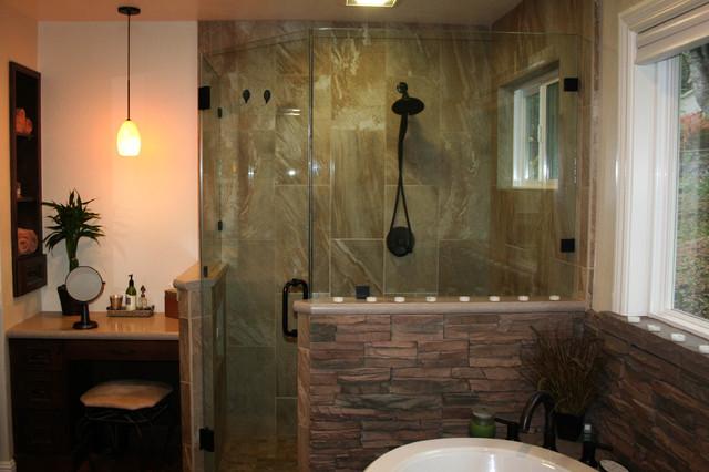 England Master Bathroom traditional-bathroom
