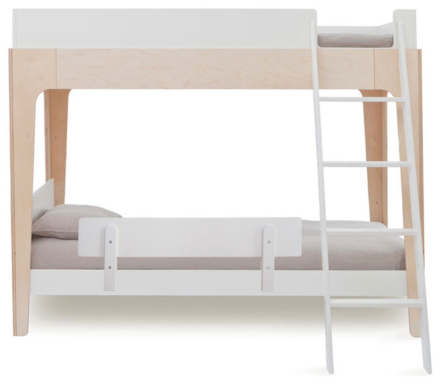 Perch Bunk Bed Security Rail White By Oeuf Modern Bunk Beds By