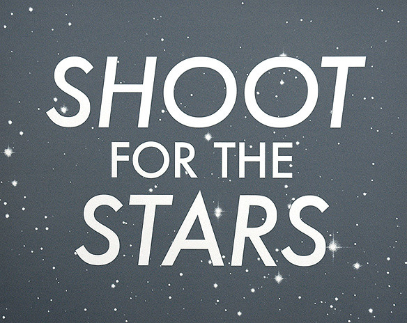 Shoot For the Stars by Hayley & Lucas modern-artwork