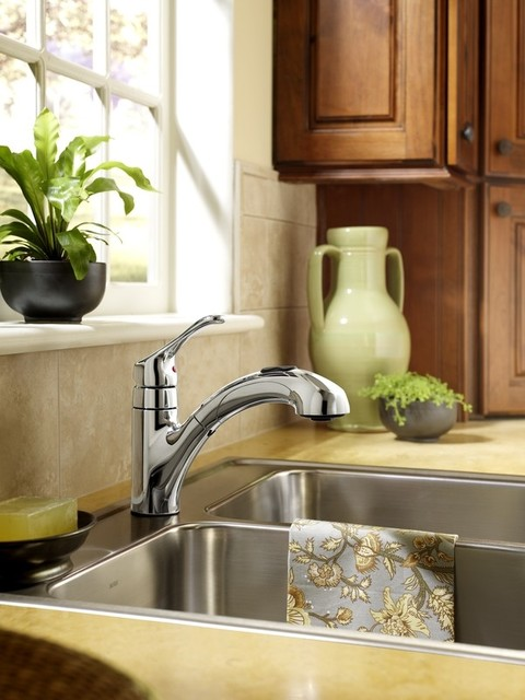 Pull-out Kitchen Faucet traditional-kitchen-faucets