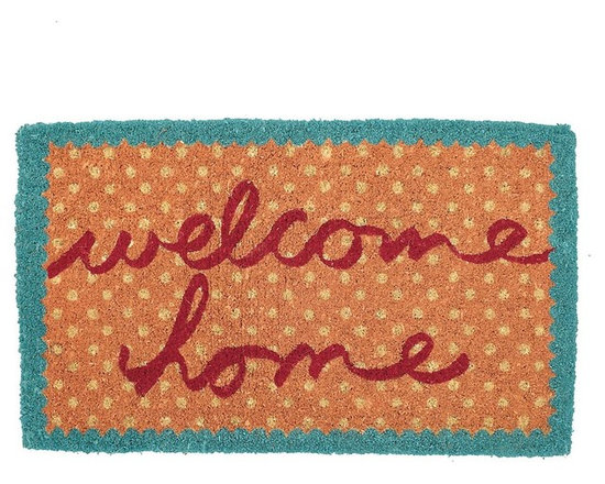 Welcome Home Coir Doormat -
