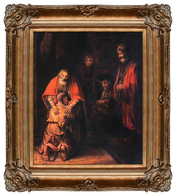 Rembrandt Return Of The Prodigal Son Modern Prints
