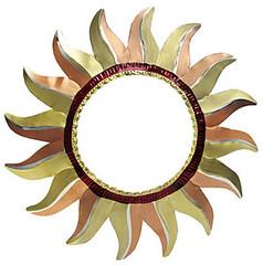 Painted Tin Mirrors Collection - Sun Mirror - PMIR270