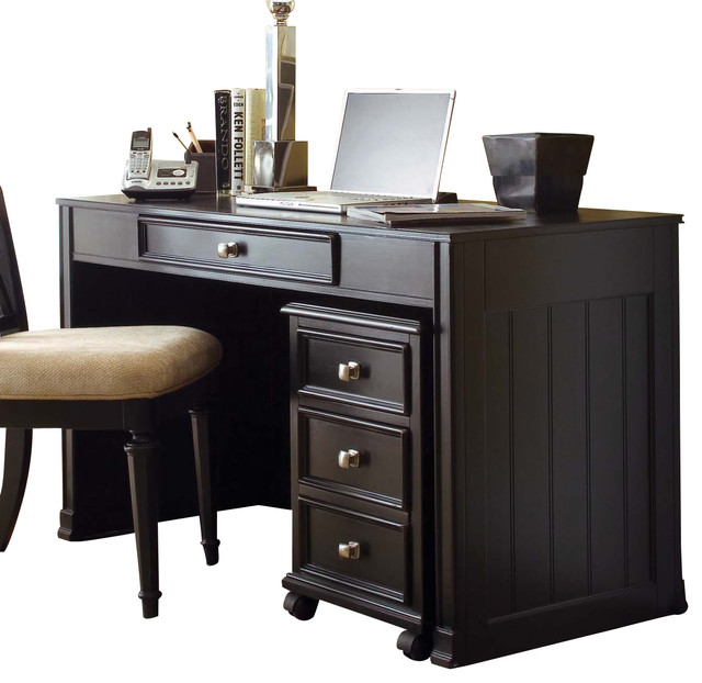 American Drew Camden Dark Desk Contemporary Desks By