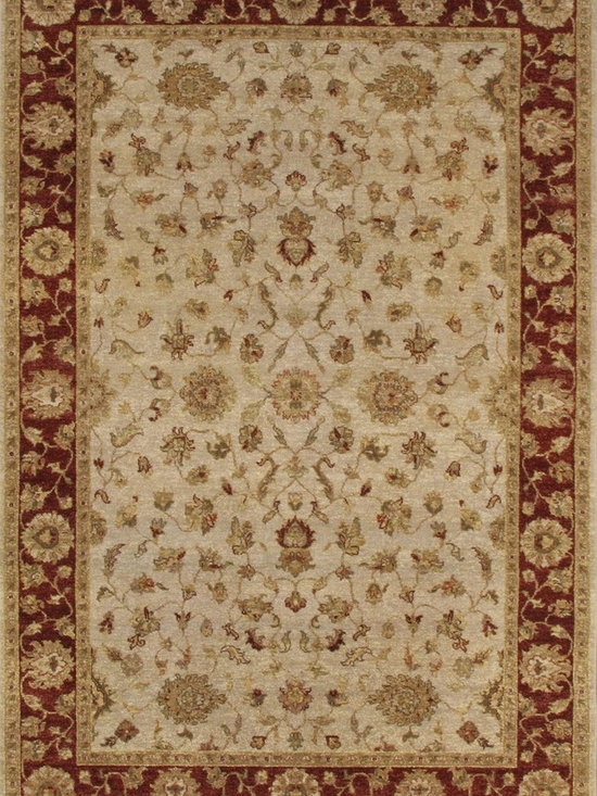 Rugsville Vegetable dyes Classic Styles Wool 10264 Rug - Rugsville Vegetable dyes Classic Styles Wool 10264 Rug is available for purchase in increments of 1