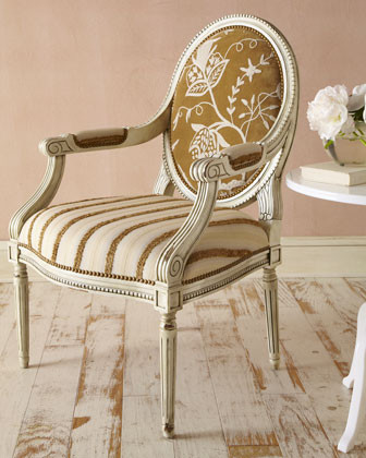 "Massoud - ""Magarite"" Chair traditional-armchairs-and-accent-chairs"