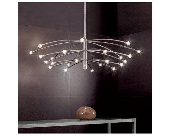 VERTIGO PENDANT LAMP BY PENTA LIGHT - The Vertigo pendants lamp from Penta is a perfect