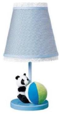 Plush Panda Bear Table Lamp contemporary-kids-lamps