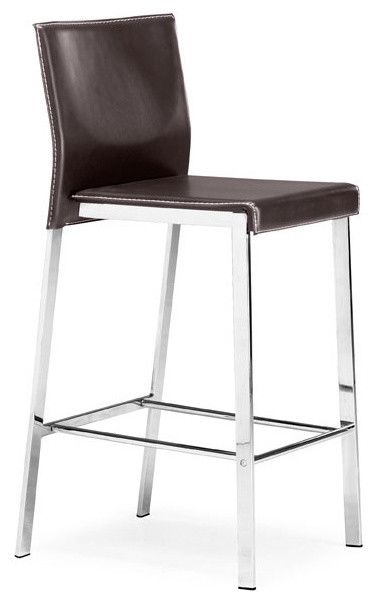Boxter Modern Bar/Counter Stool By Zuo Modern contemporary-bar-stools-and-counter-stools