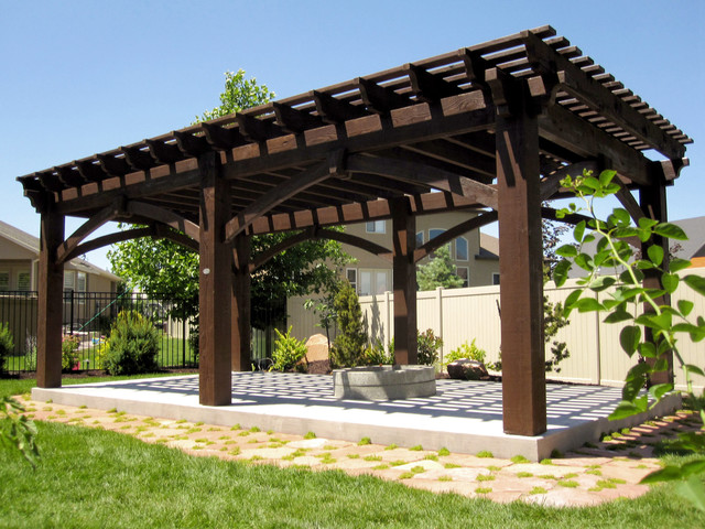 Extra Large Over Sized Timber Framed Pergola Kit Install