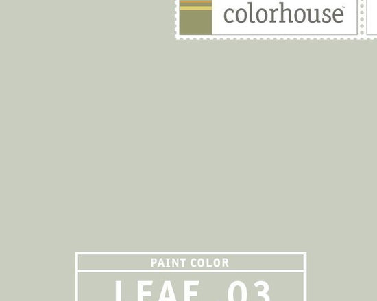 Colorhouse LEAF .03 - Colorhouse LEAF .03: A light silvery LEAF, very Swedish and very neutral. A color that sits back and lets the objects in a room come forward. Another restful color – good for living rooms, bedrooms and family rooms.