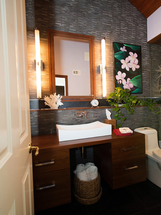 Tropical Orange County Bathroom Design Ideas Pictures Remodel Decor