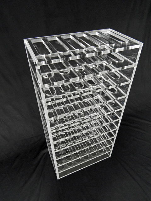 Luma 60 contemporary-wine-racks