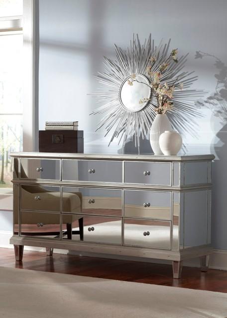 Mirrored bedroom dressers