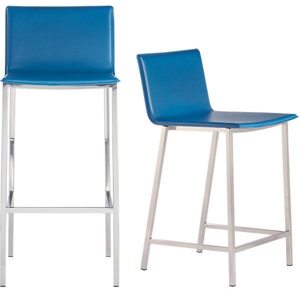 bar stools and counter