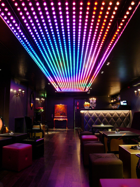 Ceiling Lights Night Club Interior Design London