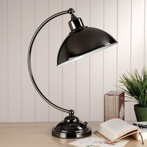 Laura Ashley TX0013 Hackett Complete Task Lamp - Contemporary - Table Lamps - by Hayneedle