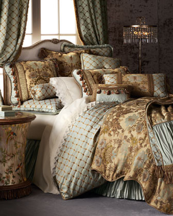"""Dian Austin Couture Home """"Petit Trianon"""" Bed Linens traditional-duvet-covers"""