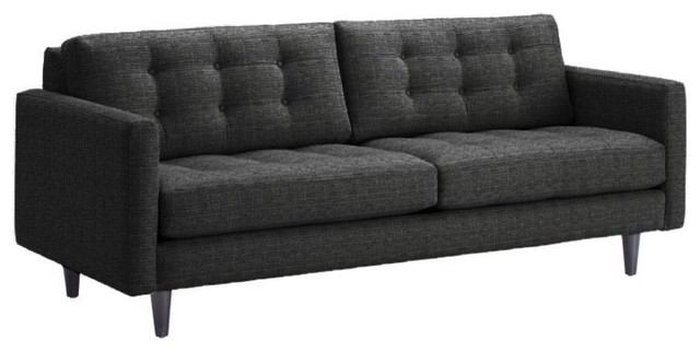 Beverly Apartment. Size Sofa, Charcoal, 68x38 modern-sofas