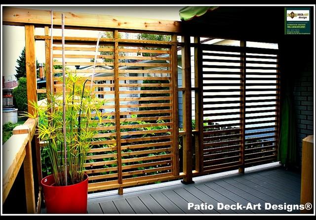 PATIO DECK-ART DESIGNS OUTDOOR LIVING contemporary-deck