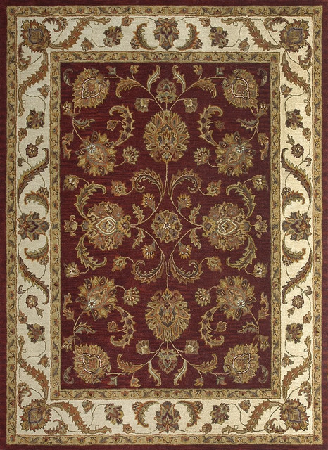"Loloi Maple MP-44 3'6"" x 5'6"" Fireweed, Beige Rug contemporary-rugs"