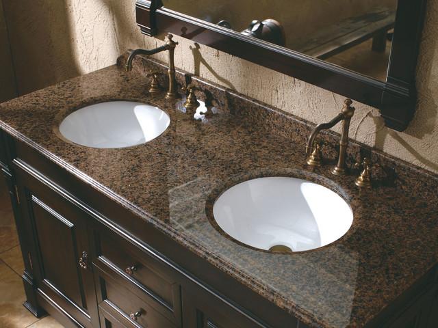 "72"" Bosco Double Bath Vanity - Black Rub Through traditional-bathroom-vanities-and-sink-consoles"