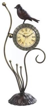 Maples Sales Metal Decor Tabletop Clock modern-clocks