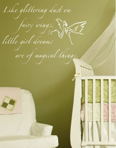 Fairy dust wall decal modern nursery decor by allmodern for Modern nursery decor