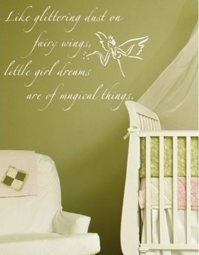 Fairy dust wall decal modern nursery decor by allmodern - Modern nursery wall decor ...