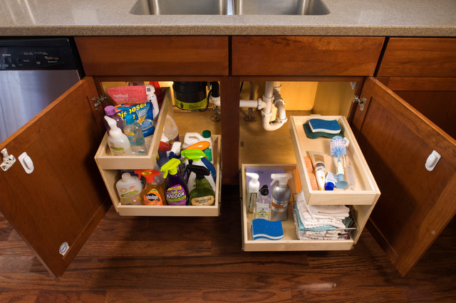 ShelfGenie Glide-Out Shelves cabinet-and-drawer-organizers