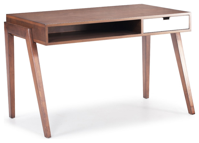 Emily Mid Century Modern Desk Midcentury Desks And Hutches By MOSS MANO