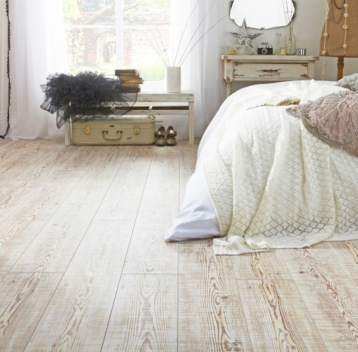 Pine Rough Sawn Wide Plank - Rustic - Laminate Flooring - by Topps Tiles