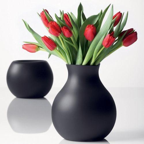 Rubber Vase by Menu modern-vases