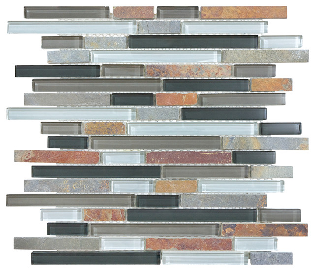 Glass & Stone Mosaic tile