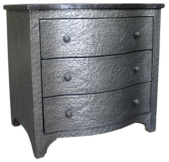 Metal Small Chest - Transitional - Accent Chests And Cabinets - by Bliss Home & Design