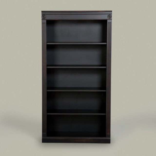 new country by ethan allen medium crawford bookcase - Traditional - Bookcases - by Ethan Allen
