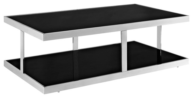 Absorb Coffee Table in Black modern-coffee-tables