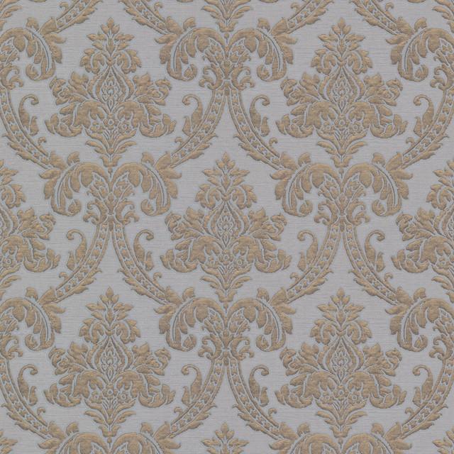 Bradford Kt Fabric Damask Wallpaper Traditional
