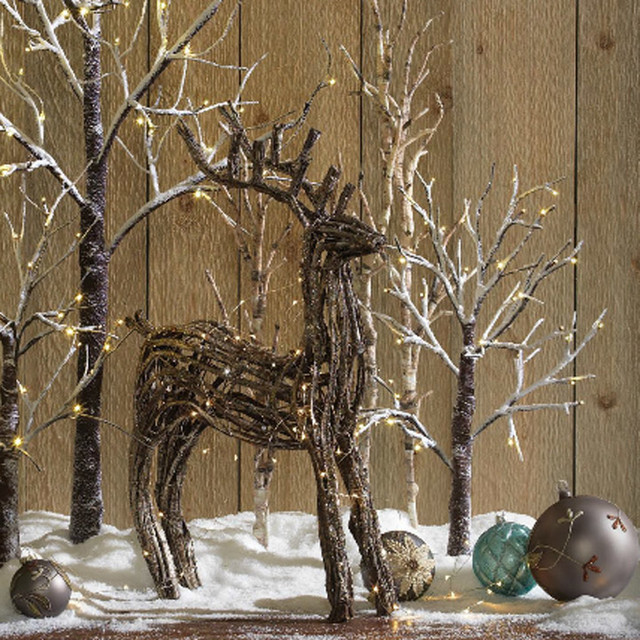 Rustic Christmas Decorating Ideas
