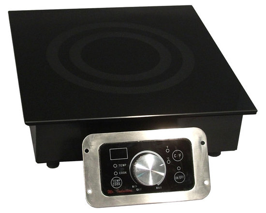 1800W Commercial Induction (Built-In) - What's cooking? If you've got your own restaurant or catering business, it's time to upgrade to induction equipment. With a thick, tempered glass surface, choice of power or temperature mode and simple knob-set thermostat control, you'll truly be top chef.
