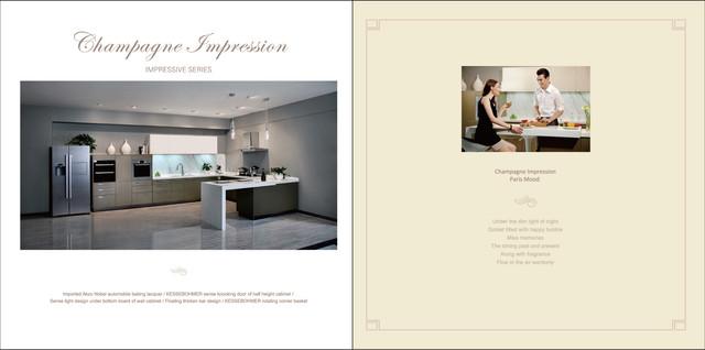 E-catalogue VIDAS Kitchen modern-kitchen-cabinetry