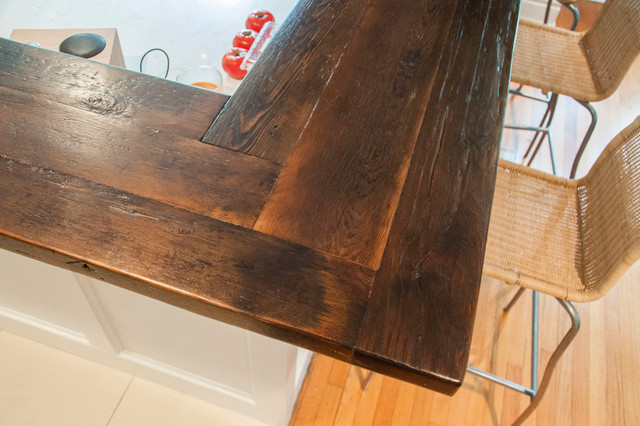 Reclaimed Pine Breakfast Bar - Contemporary - st louis - by Rustic Grain