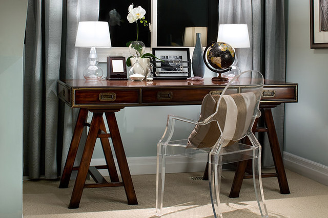 Jane Lockhart Office Nook contemporary-home-office